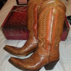 Lucchese Cheyenne M4873 Cowboy Boots
